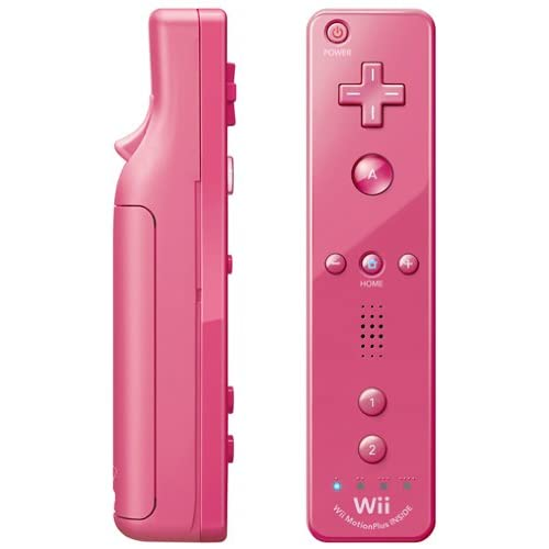 Image 0 of Nintendo OEM Remote Plus Pink For Wii And Wii U