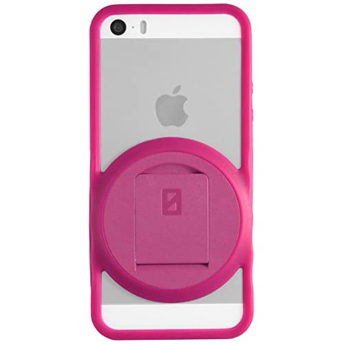 Image 0 of iPhone 5 5S SE VarioEdge Stand Case By ZeroChroma Pink Cover Multi