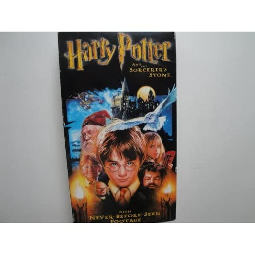 Image 0 of Harry Potter & The Sorcer's Stone On VHS