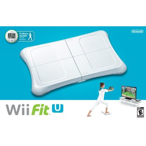 Image 0 of Wii Fit U Wii Balance Board Accessory And Fit Meter