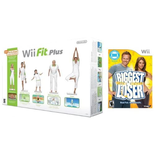 Image 0 of Wii Fit Plus With Balance Board And Biggest Loser Game Bundle For Wii And Wii U