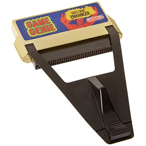 Image 0 of Game Genie Video Game Enhancer For Nintendo NES Vintage Gold