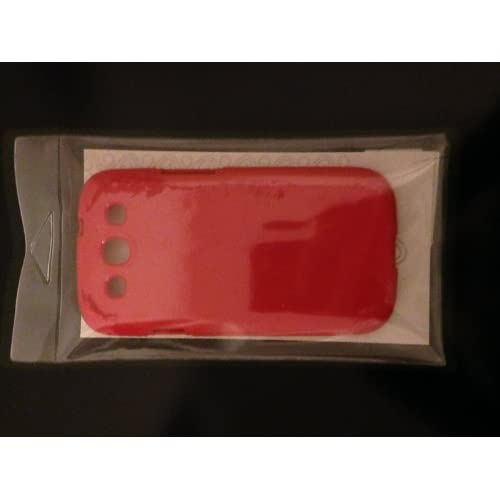 Gadget Jackets Samsung Galaxy S3 Soft Case Red Cover Fitted