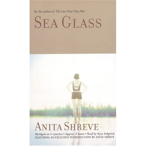 Image 0 of Sea Glass By Anita Shreve And Kyra Sedgwick Reader On Audio Cassette