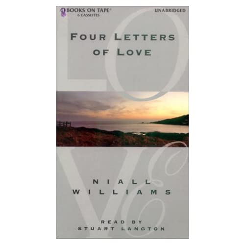 Image 0 of Four Letters Of Love By Williams Niall Langton Stuart Narrator On Audio Cassette