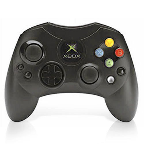 Image 0 of Microsoft OEM Controller S-Black For Xbox Original