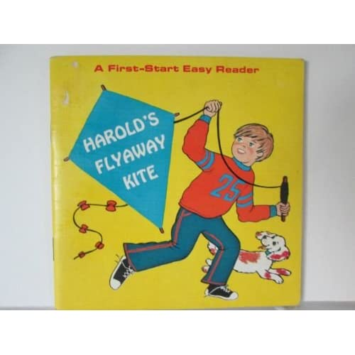 Image 0 of Harold's Flyaway Kite A First Start Easy Reader On Audio Cassette