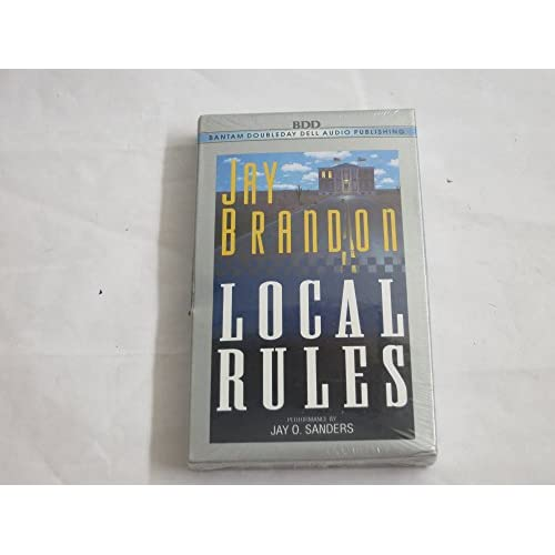 Image 0 of Local Rules By Jay Brandon On Audio Cassette