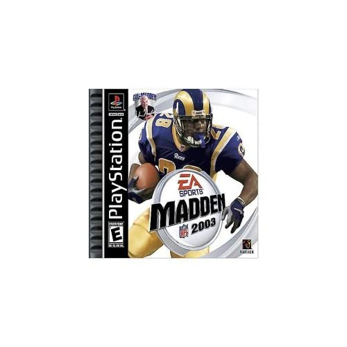 Madden NFL 2003 For PlayStation 1 PS1 Football