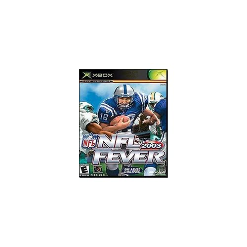 NFL Fever 2003 Xbox For Xbox Original Football With Manual And Case