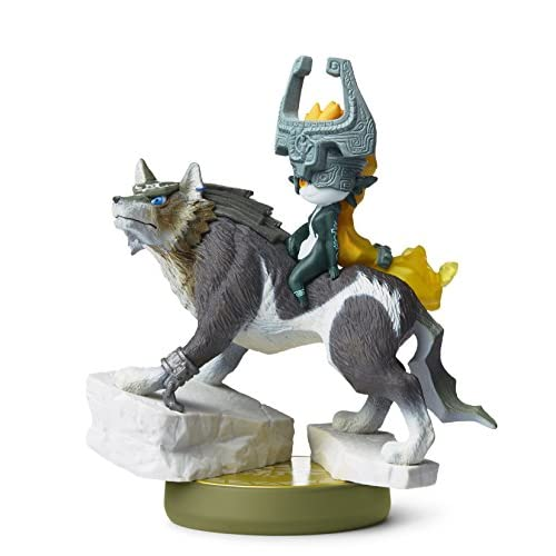 Image 0 of Wolf Link Amiibo Legend Of Zelda Twilight Princess Figure