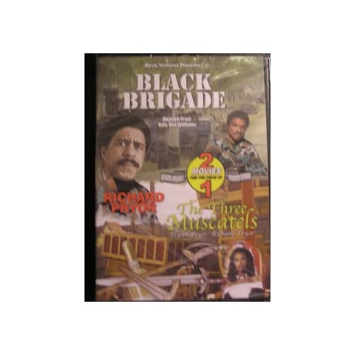 Image 0 of Black Brigade / The Three Muscatels On DVD With Richard Pryor 3
