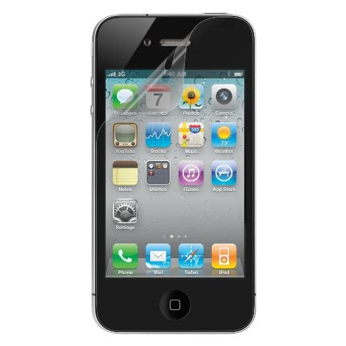 Belkin Clear Screen Protector For Apple iPhone 4 / 4S 3-pack