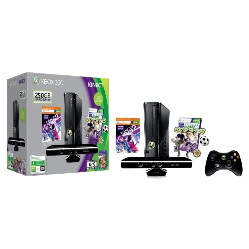 Image 2 of Xbox 360 250GB With Kinect Holiday Value Bundle