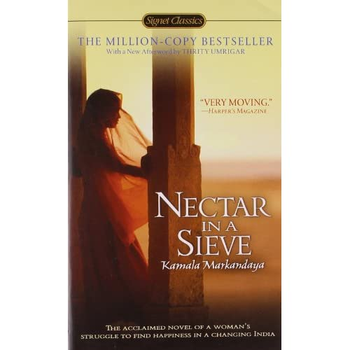 a book report of kamala markandayas nectar in a sieve Find all available study guides and summaries for nectar in a sieve by kamala purnaiya taylor if there is a sparknotes, shmoop, or cliff notes guide, we will have it listed here.