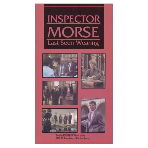 Image 0 of Inspector Morse: Last Seen Wearing On VHS
