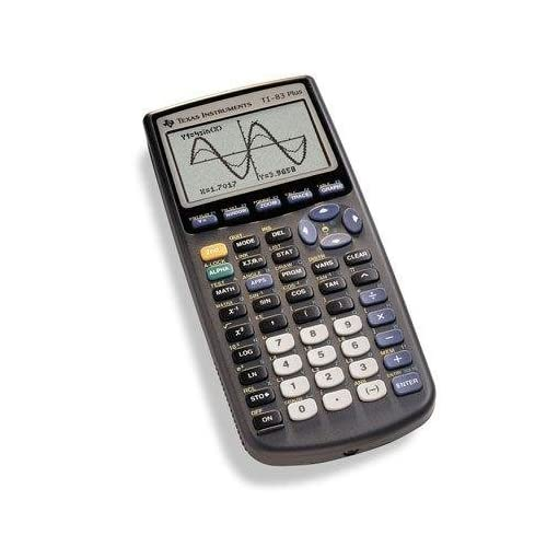 Texas Instruments Inc 83PL/CLM/1L1/G 83 Plus Graphics Calculator By Texas Instru