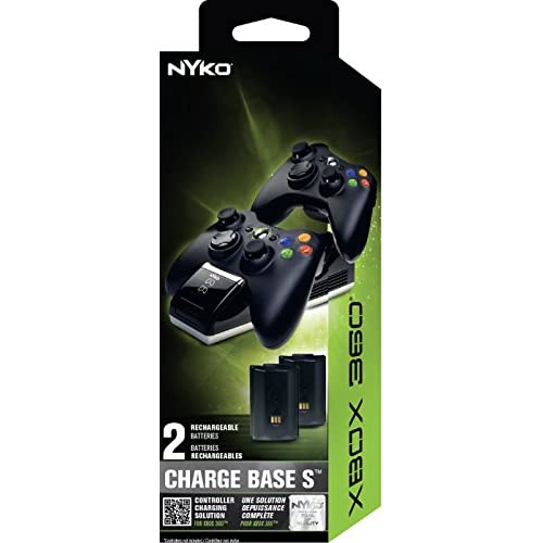 Image 2 of Nyko Charge Base 360 S For Xbox 360 Charging 86074-A50