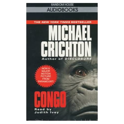 Image 0 of Congo By Michael Crichton And Judith Ivey Reader On Audio Cassette