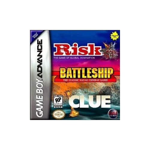 Image 0 of Risk/battleship/clue For GBA Gameboy Advance