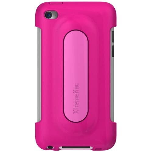 Image 1 of Xtrememac iPod Touch 4G Snap Stand Bubble Gum Pink Fitted