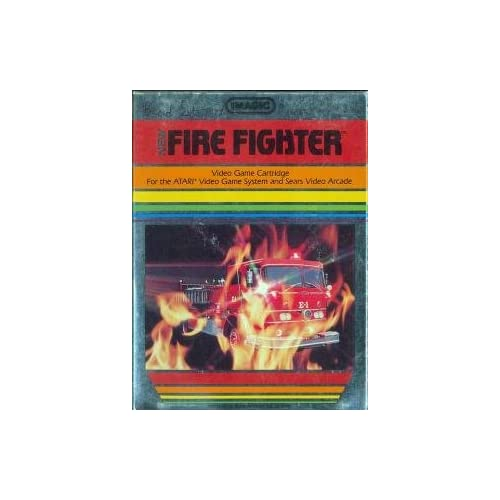Fire Fighter For Atari 2600 Vintage