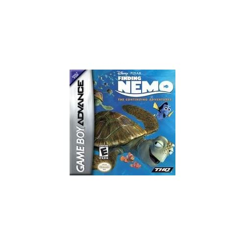 Finding Nemo: The Continuing Adventures For GBA Gameboy Advance