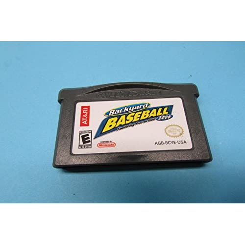 Backyard Baseball 2006 Nintendo Game Boy Advance 2005 For GBA Gameboy Advance