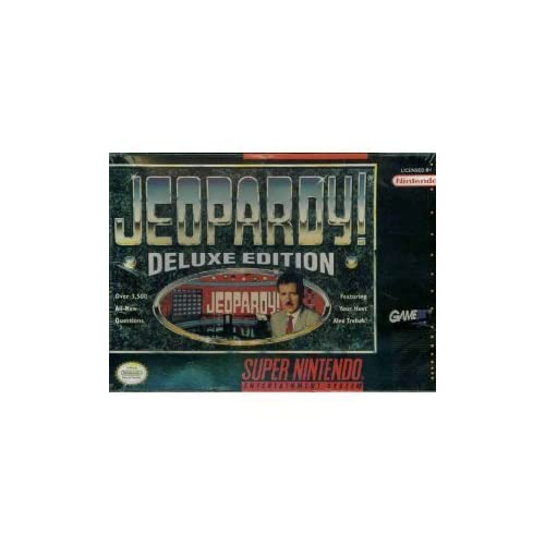 Jeopardy! Deluxe Edition For Nintendo NES Vintage