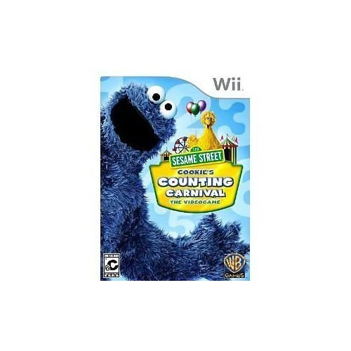 Image 0 of Sesame Street:cookies Counting Carnival W/controller Cover For Wii