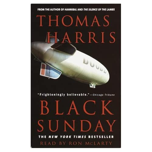 Image 0 of Black Sunday By Harris Thomas McLarty Ron Reader On Audio Cassette