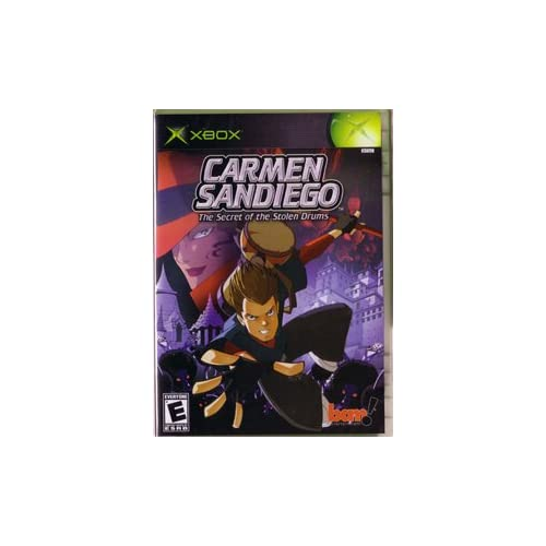 Carmen Sandiego Xbox For Xbox Original With Manual and Case