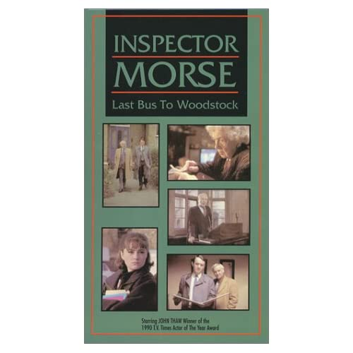 Image 0 of Inspector Morse: Last Bus To Woodstock On VHS
