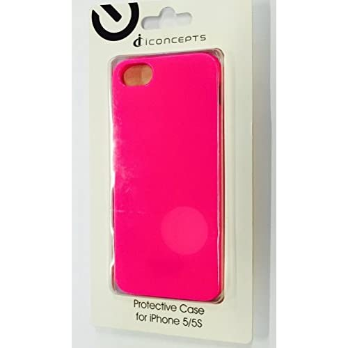 Image 2 of iConcepts Protective Case For iPhone 5 5S SE Pink Cover Fitted DD558