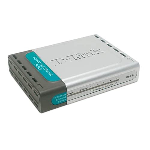 Image 0 of D-Link DSS-5+ 5-port 10/100 Switch Desktop