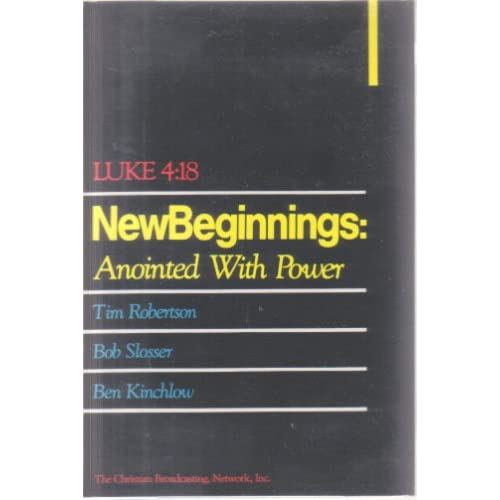 Image 0 of Luke 4:18 New Beginnings: Anointed With Power By Tim Robertson On Audio Cassette