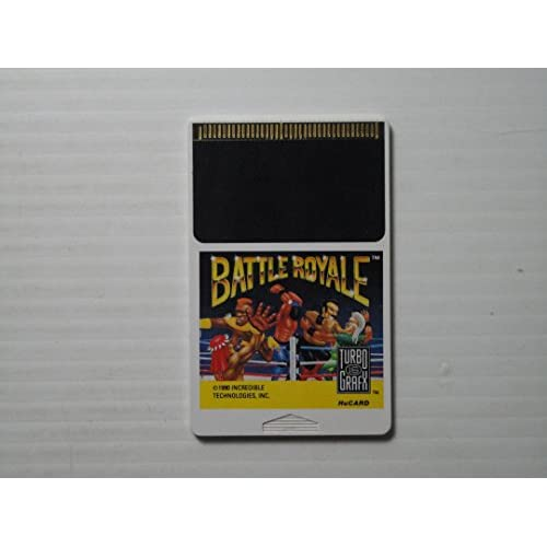 Battle Royale For Turbo Grafx 16 Vintage