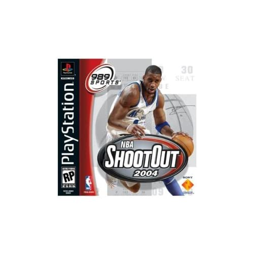 NBA Shootout 2004 For PlayStation 1 PS1 Basketball