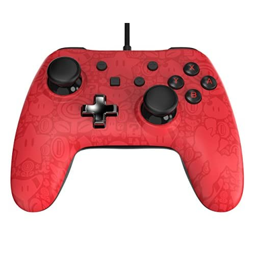 PowerA Wired Controller Plus Super Mario Nintendo Switch Red Gamepad