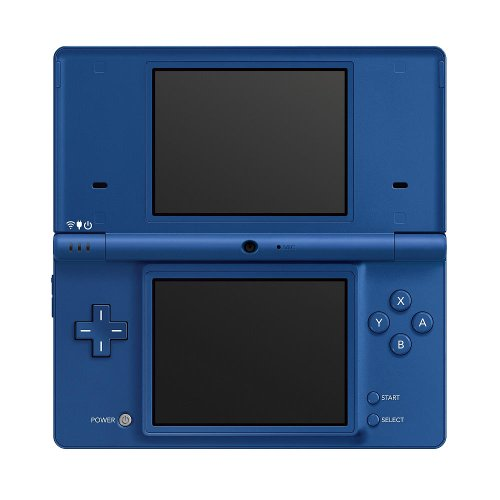 Nintendo DSi 3.25 LCD Display Game System Matte Blue Handheld