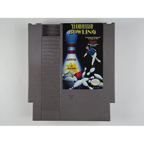 Championship Bowling For Nintendo NES Vintage