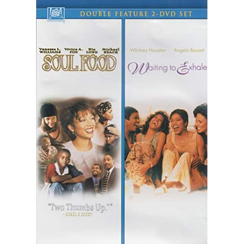 Image 0 of Soul Food / Waiting To Exhale Double Feature On DVD With Vanessa Williams Romanc