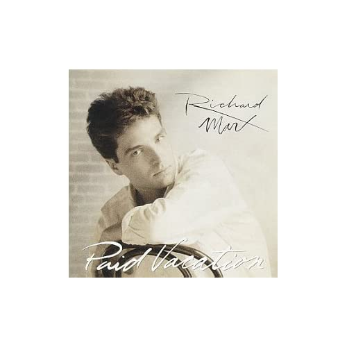 Image 0 of Paid Vacation By Richard Marx On Audio CD Album 1994