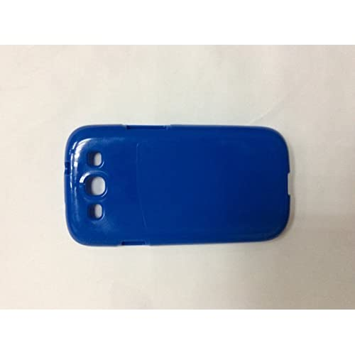 High Quality Soft Case For Samsung Galaxy S3 Blue Cover Fitted