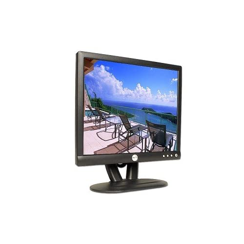 17 Inch Dell E172FPT LCD Monitor Midnight Gray Grey E172FPT E172FPt