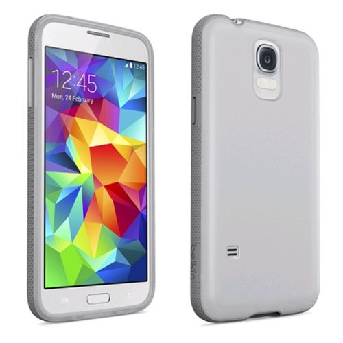 Belkin Grip Candy 1.5 Case For Samsung Galaxy S5 Clear/Gravel Cover
