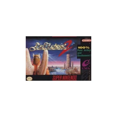 Actraiser II Nintendo Super NES For Super Nintendo SNES RPG