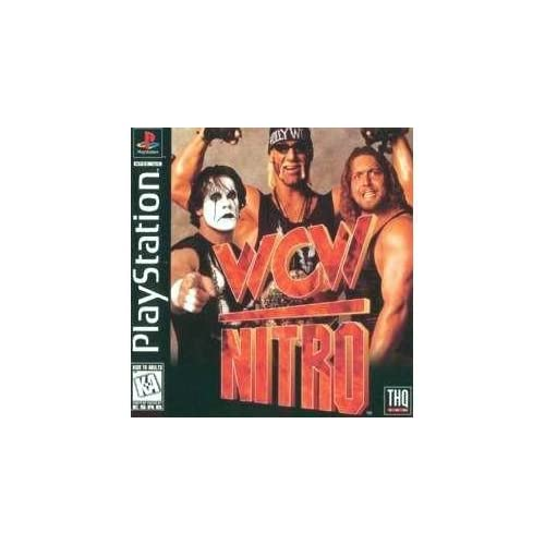 WCW Nitro For PlayStation 1 PS1 Fighting