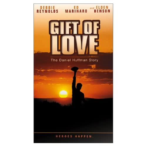 A Gift Of Love The Daniel Huffman Story On VHS With Debbie Reynolds Romance