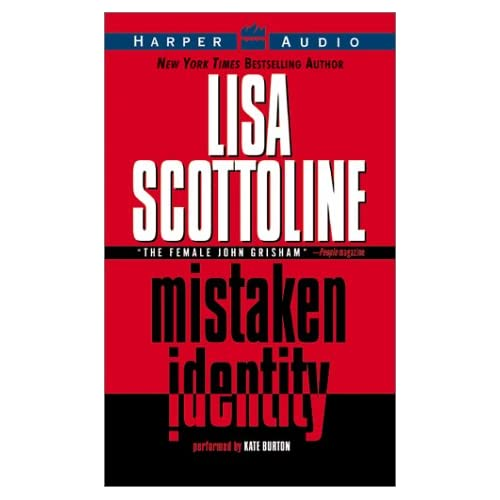 Image 0 of Mistaken Identity By Scottoline Lisa Burton Kate Reader On Audio Cassette